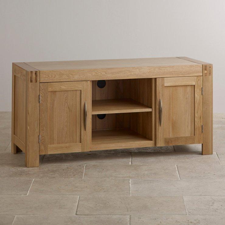 Alto Natural Solid Oak Large TV Cabinet - Image 6
