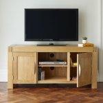 Alto Natural Solid Oak Large TV Cabinet - Thumbnail 2