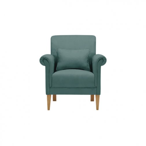 Amelia Accent Chair in Polla Cornflower