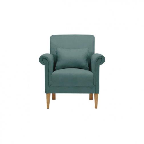 Amelia Accent Chair in Polla Cornflower