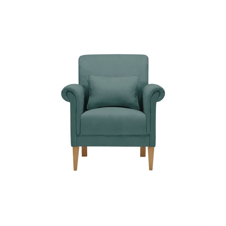 Amelia Accent Chair in Polla Cornflower - Image 1
