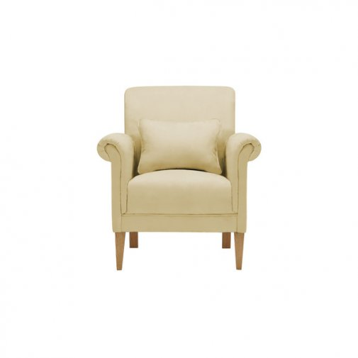 Amelia Accent Chair in Polla Meadow