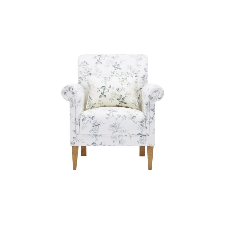 Amelia Accent Chair in Natural Cornflower - Image 1