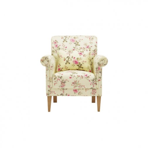 Amelia Accent Chair in Rippon Plum