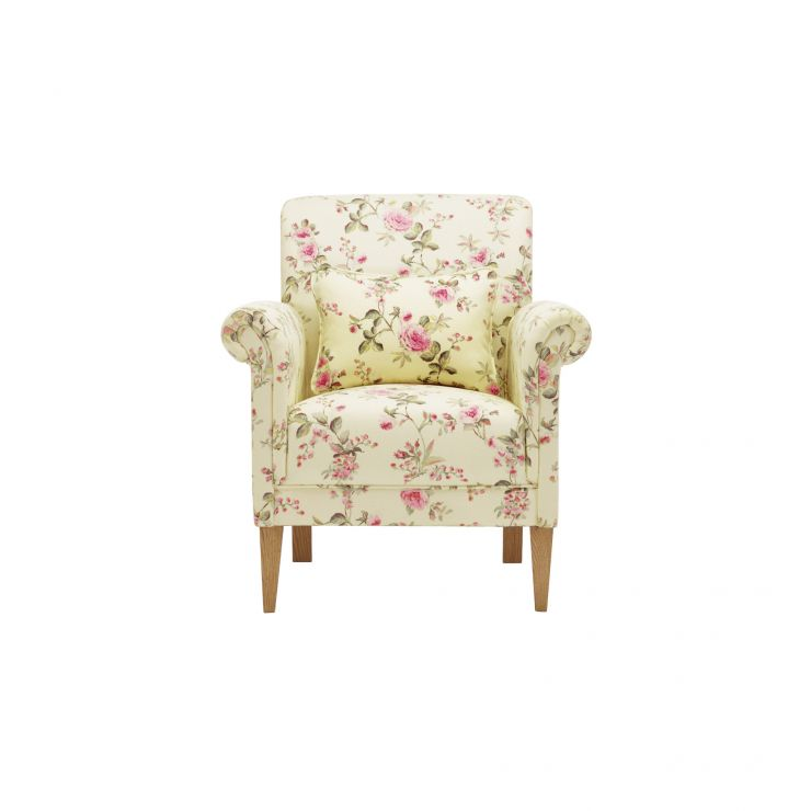 Amelia Accent Chair in Rippon Plum - Image 1