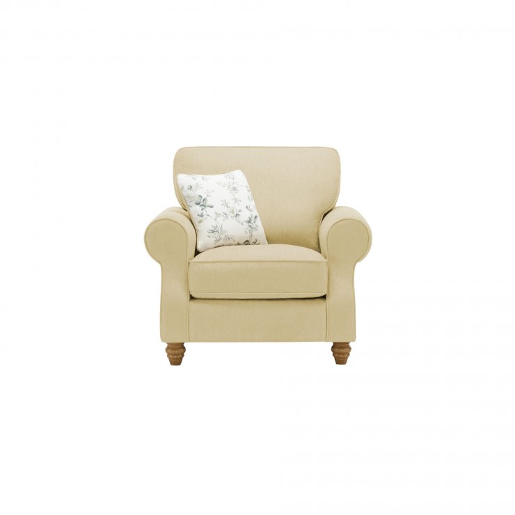 Amelia Armchair in Polla Meadow with Rippon Natural Scatters - Image 1