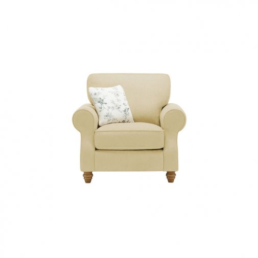 Amelia Armchair in Polla Meadow with Rippon Natural Scatters