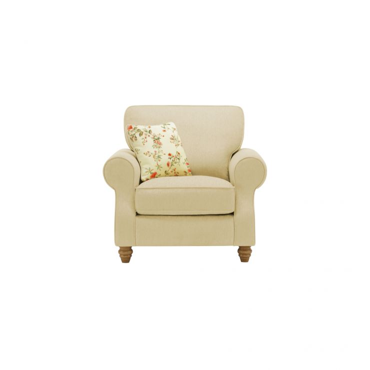Amelia Armchair in Polla Meadow with Rippon Rose Scatters - Image 1