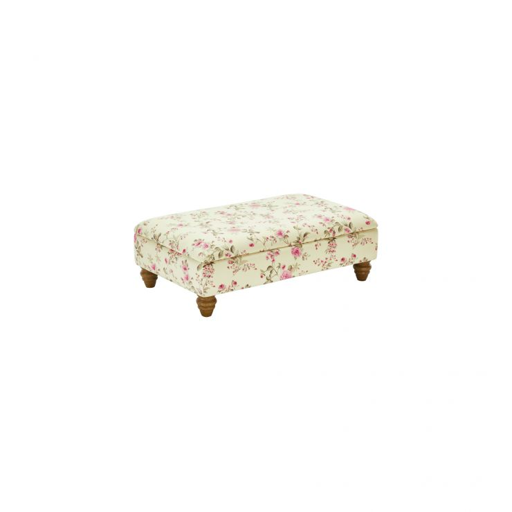 Amelia Storage Footstool in Rippon Plum - Image 1