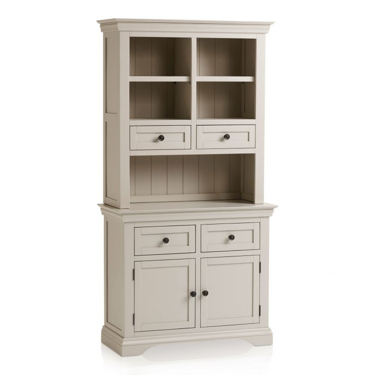 Arlette Small Grey Dresser in Painted Hardwood - Image 7