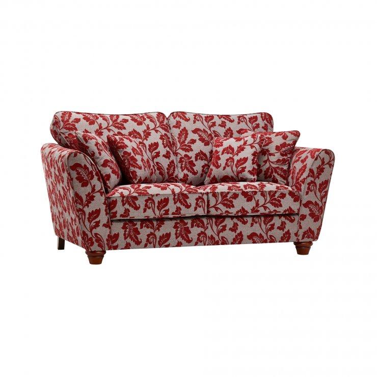 Ashdown 2 Seater Sofa in Hampton Ruby