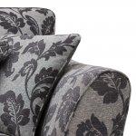 Ashdown 3 Seater Sofa in Hampton Charcoal - Thumbnail 6