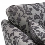 Ashdown 3 Seater Sofa in Hampton Charcoal - Thumbnail 4