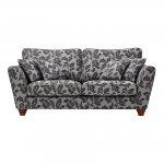 Ashdown 3 Seater Sofa in Hampton Charcoal - Thumbnail 2