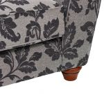 Ashdown 3 Seater Sofa in Hampton Charcoal - Thumbnail 7