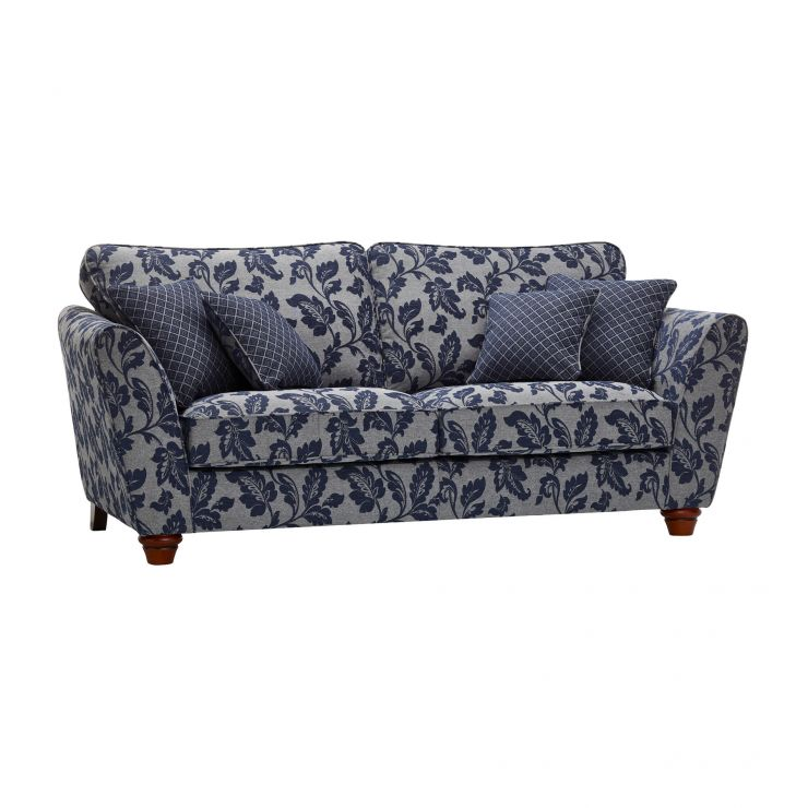 Ashdown 3 Seater Sofa in Hampton Navy - Image 6