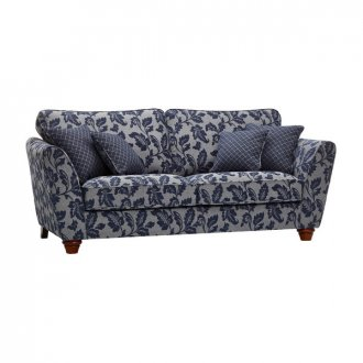 Ashdown 3 Seater Sofa in Hampton Navy