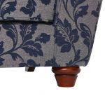 Ashdown 3 Seater Sofa in Hampton Navy - Thumbnail 6