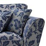 Ashdown 3 Seater Sofa in Hampton Navy - Thumbnail 5