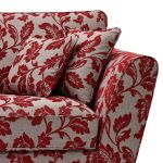 Ashdown 3 Seater Sofa in Hampton Ruby - Thumbnail 5