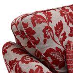 Ashdown 3 Seater Sofa in Hampton Ruby - Thumbnail 4