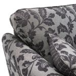 Ashdown 4 Seater Sofa in Hampton Charcoal - Thumbnail 4