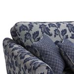 Ashdown 4 Seater Sofa in Hampton Navy - Thumbnail 4