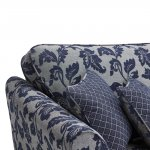 Ashdown 4 Seater Sofa in Hampton Navy - Thumbnail 4