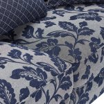 Ashdown 4 Seater Sofa in Hampton Navy - Thumbnail 6
