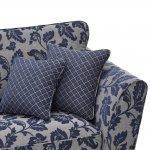 Ashdown 4 Seater Sofa in Hampton Navy - Thumbnail 5