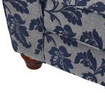 Ashdown 4 Seater Sofa in Hampton Navy - Thumbnail 8