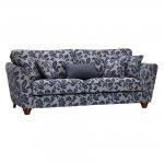 Ashdown 4 Seater Sofa in Hampton Navy - Thumbnail 1