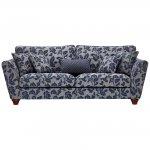 Ashdown 4 Seater Sofa in Hampton Navy - Thumbnail 2
