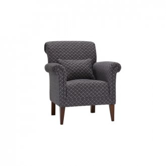 Ashdown Accent Chair in Hampton Charcoal