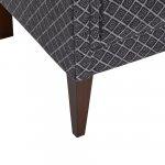 Ashdown Accent Chair in Hampton Charcoal - Thumbnail 9