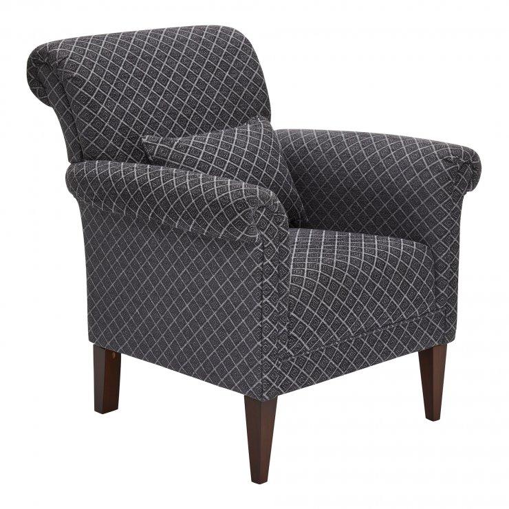 Ashdown Accent Chair in Hampton Charcoal