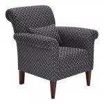 Ashdown Accent Chair in Hampton Charcoal - Thumbnail 5