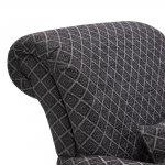 Ashdown Accent Chair in Hampton Charcoal - Thumbnail 6