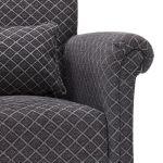 Ashdown Accent Chair in Hampton Charcoal - Thumbnail 8