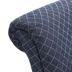 Ashdown Accent Chair in Hampton Navy - Thumbnail 6
