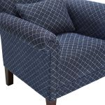 Ashdown Accent Chair in Hampton Navy - Thumbnail 7