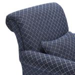 Ashdown Accent Chair in Hampton Navy - Thumbnail 5