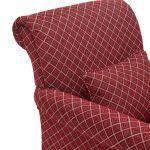 Ashdown Accent Chair in Hampton Ruby - Thumbnail 6