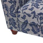 Ashdown Loveseat in Hampton Navy - Thumbnail 7
