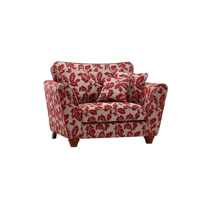 Ashdown Loveseat in Hampton Ruby