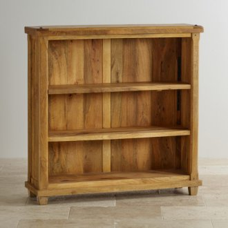 Baku Light Natural Solid Mango Small Bookcase