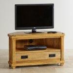 Baku Light Natural Solid Mango Corner TV Cabinet - Thumbnail 3