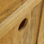 Baku Light Natural Solid Mango Corner TV Cabinet - Thumbnail 5