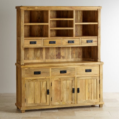 Baku Light Natural Solid Mango Large Dresser