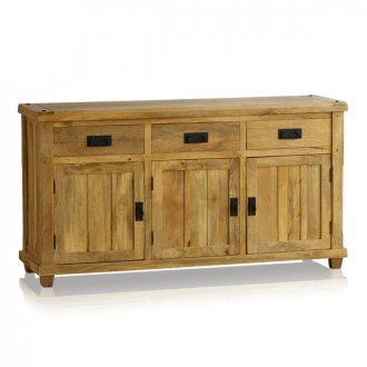 Baku Light Natural Solid Mango Large Sideboard